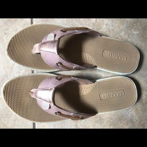 Sperry Rose Gold Top-Sider Sandals Size 6.5 Womens